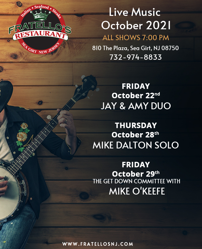 Live music at Fratello's