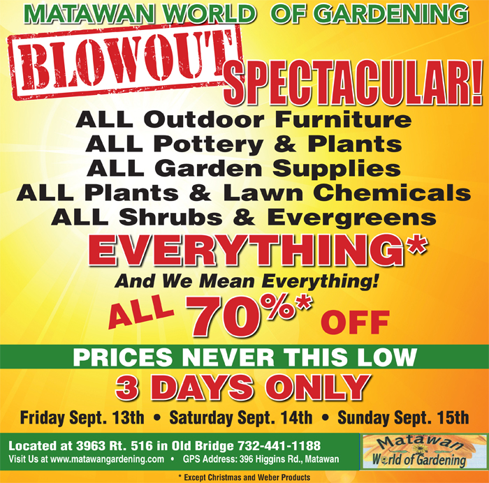matawan world of gardening deals