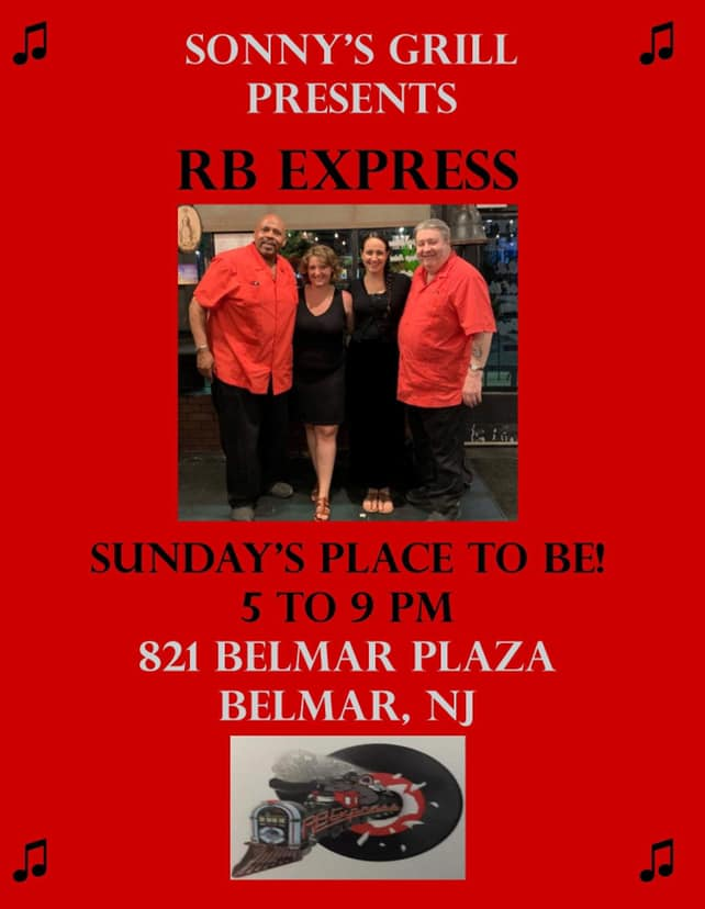 Sonny's Grille Belmar NJ RB express event
